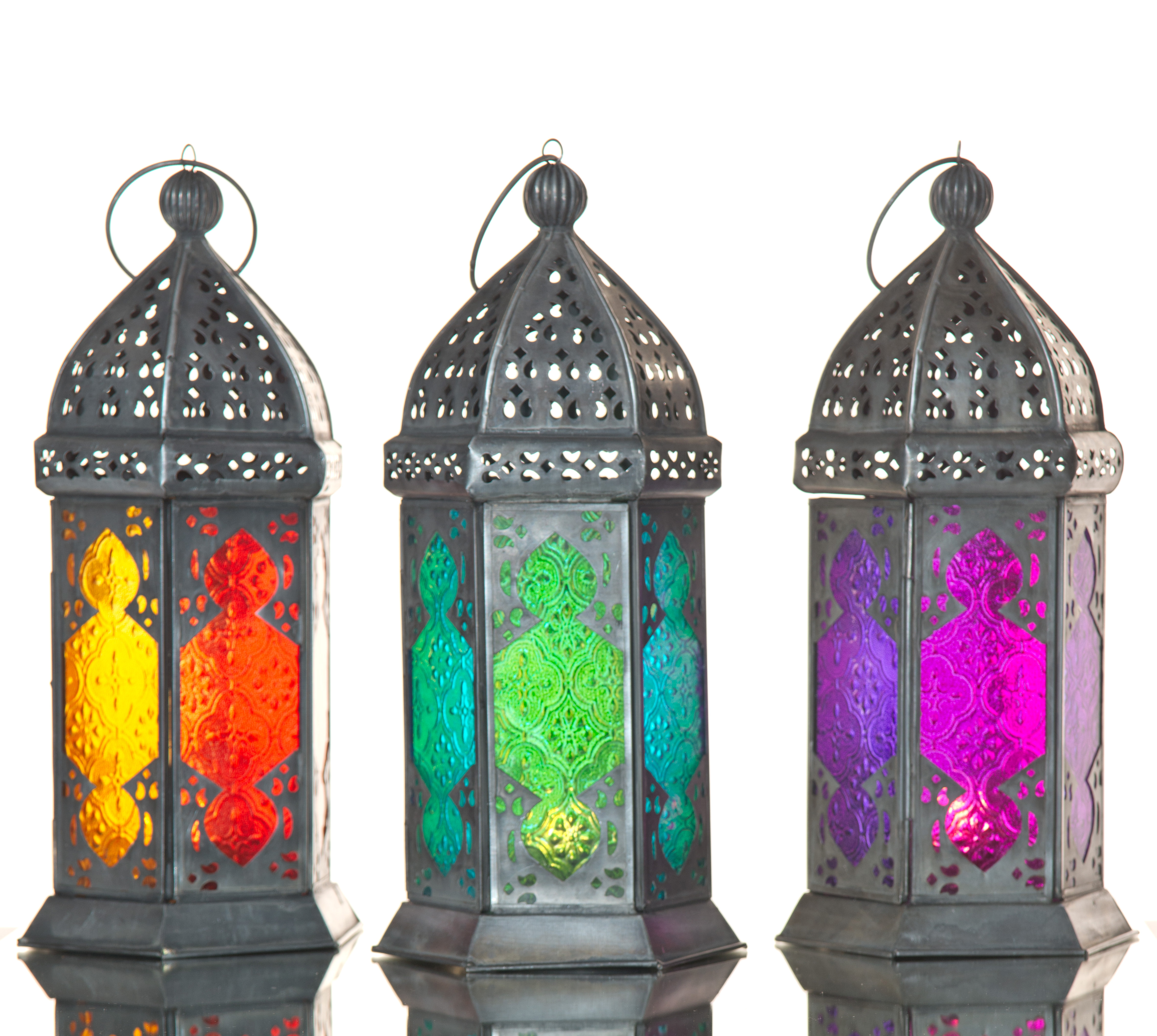 category_S5555 - Moroccan Lantern Coloured - Large