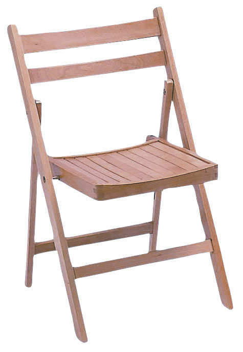 category_F1302 - Wooden Folding Chair