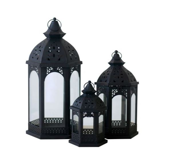 category_S5559B - Moroccan Lantern Plain - Small