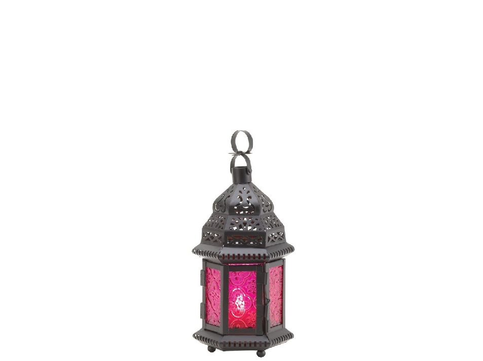 category_S555A - Moroccan Lantern Coloured - Small